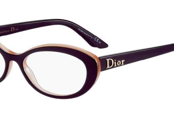 Brille von Dior: Schön streng