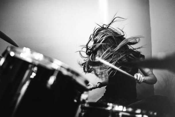 Frauen ans Schlagzeug!