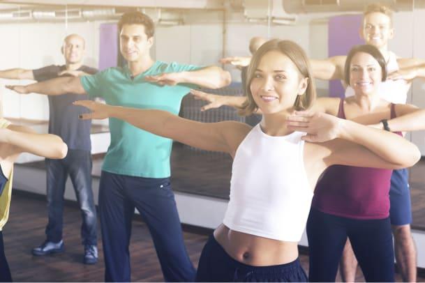 Tanzen Sie sich fit mit Zumba