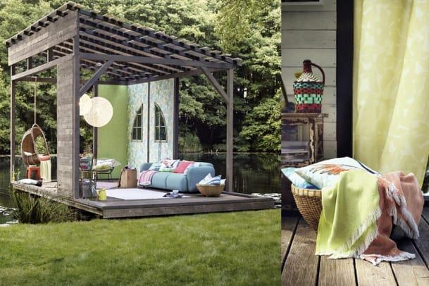 Wohnträume am See: Esprit Home Frühlingskollektion 2015