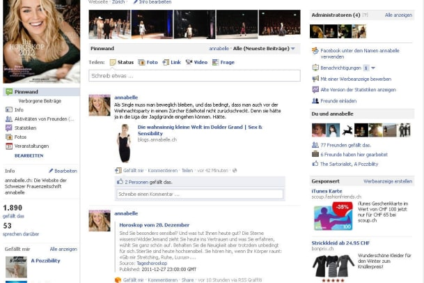 annabelle auf Facebook!