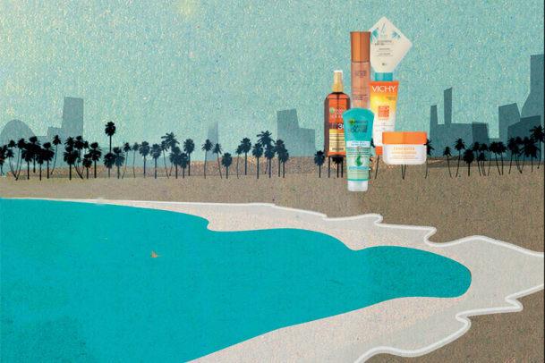 Sonnenpflege: Ferien am Meer