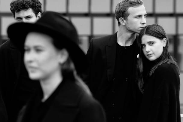 Film noir: Acht Schweizer SchauspielerInnen in Schwarz