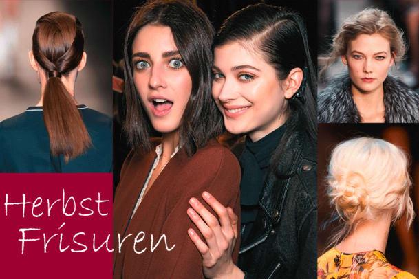 Fünf Frisuren-Trends für den Herbst