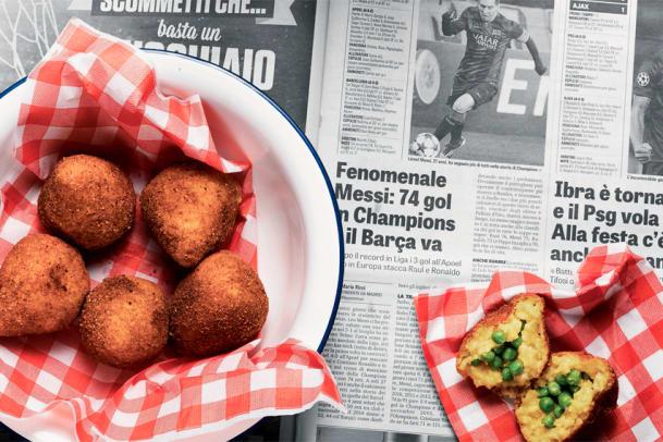 Arancini zaubern: Kochen mit Resten