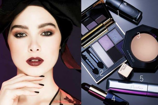 Festliches Make-up: Der verführerische «Maleficent»-Look