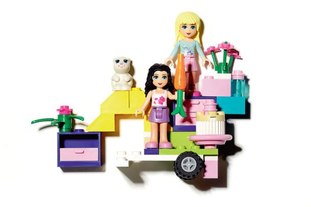 Neue Mädchenlinie von Lego: Pro und Kontra