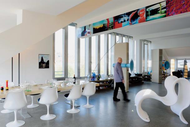 As design goes by – Peter Grünbaums Loft