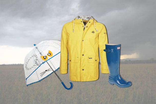 November Rain: Outfits fürs Regenwetter