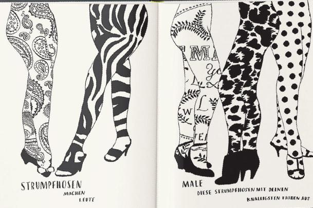 Malbuch für Modefans