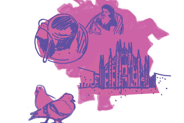 Zum Shoppen nach: Mailand