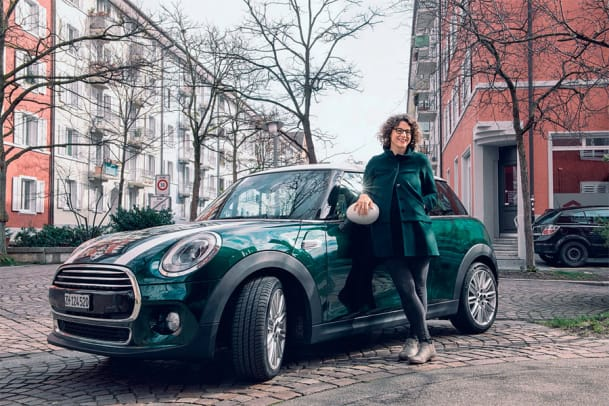 Florina Schwander testet den Mini Cooper D: Grünes Fahrvergnügen
