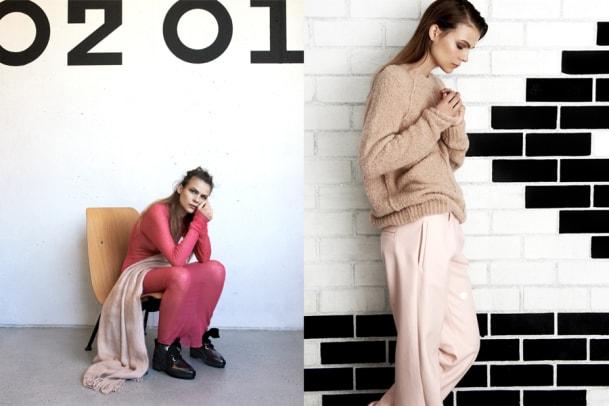 Mode-Trend Rosarot und ein Interview mit einem glücklichen Model