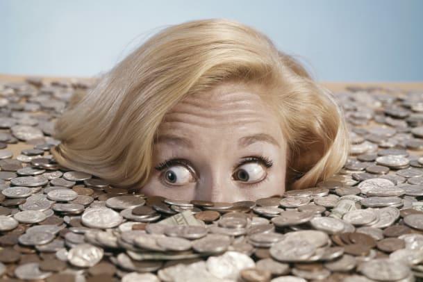 Frauen legen ihr Geld vorsichtiger an