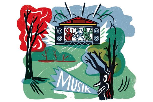Musik liegt in der Luft