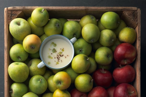 Peterliwurzel-Apfel-Suppe