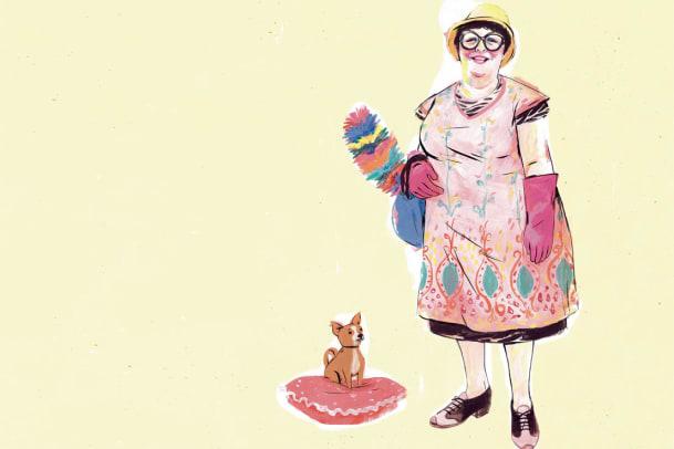 Eine Hommage an eine Putzfrau – Von einer, die reiner machte