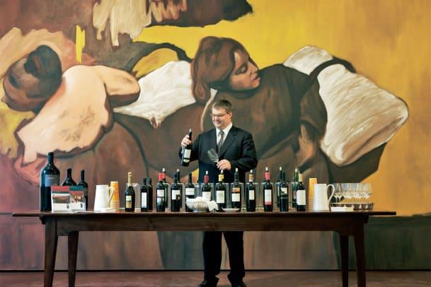 Besuch beim Weinpapst Philipp Schwander