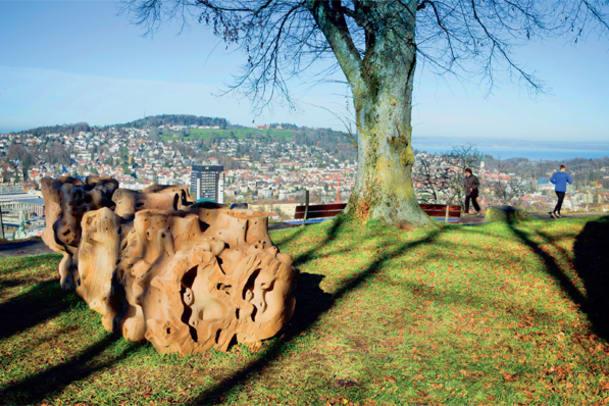 Postkarte aus St. Gallen