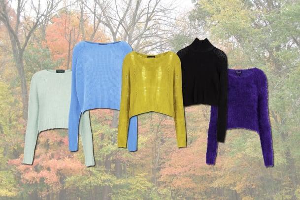 Wollig warm: Tolle Pullis im Herbst