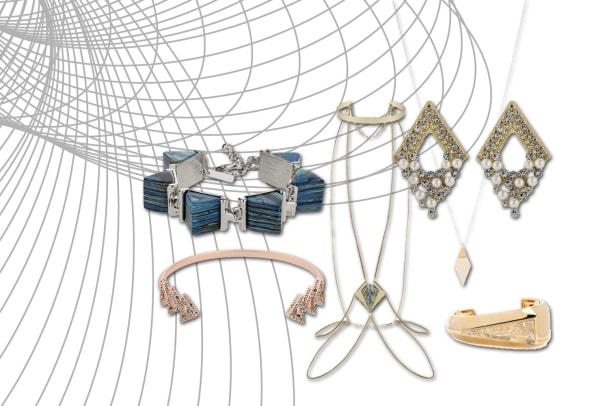Grazile Geometrie: Aktuelle Schmuck-Trends