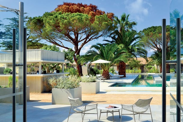 Designhotel Sezz: Pool-Position