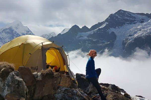 Wenn man auf den Mount Everest steigt