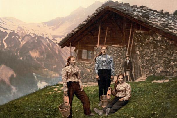 Im Wallis hatten die ersten Frauen Hosen an