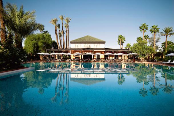 3 Tage Erholung im Hotel La Mamounia in Marrakesch