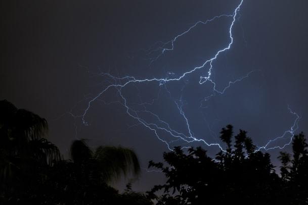 Wenn man vom Blitz getroffen wird