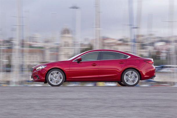 Ein Sechser! Der Mazda 6 im Autotest