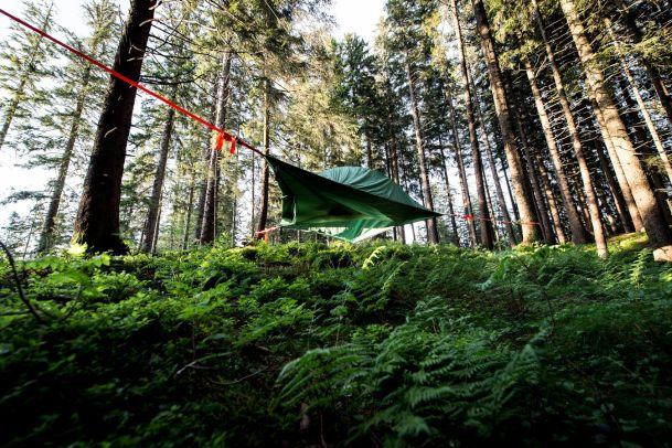 Camping 2.0: Spektakuläre Schlafstätten