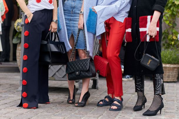 Coole Hosen an der Kopenhagen Fashion Week