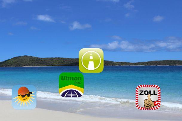 App in den Urlaub! Das sind die besten Apps für die Sommer-Ferien