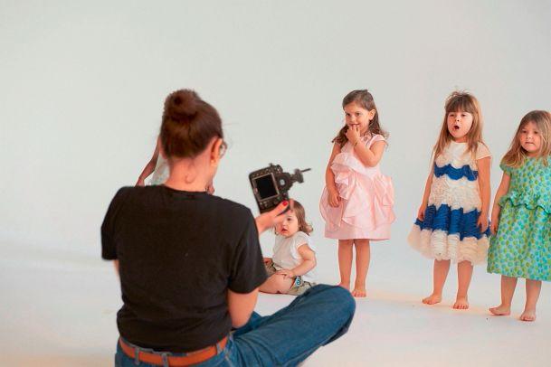 Kids vor der Kamera