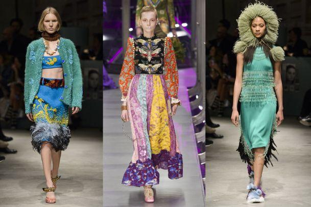 Die Opulenz der Mailand Fashion Week