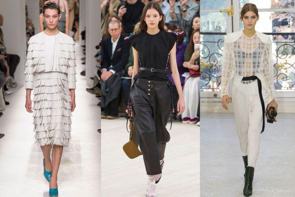 Sinnlichkeit und Feminität an der Paris Fashion Week
