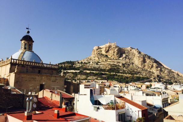 Postkarte aus Alicante