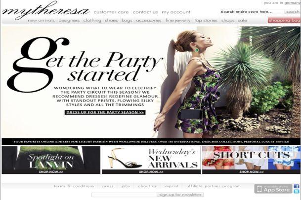 Mytheresa.com – Schweizer shoppen jetzt einfacher