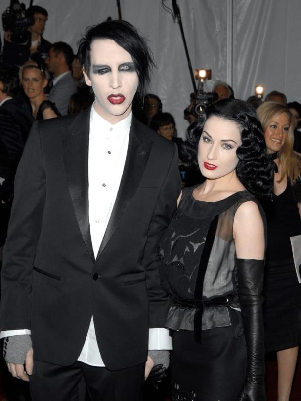 Marilyn Manson Dita von Teese