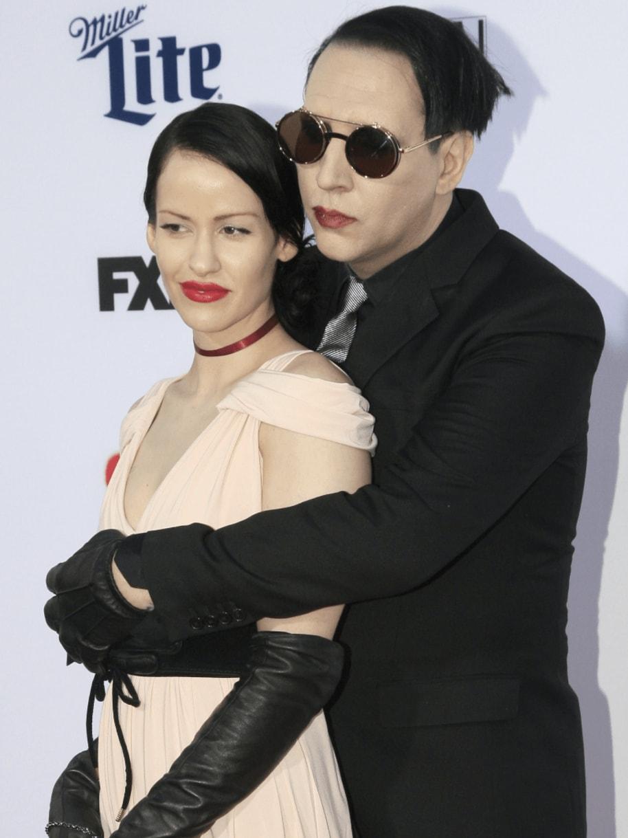 Marilyn Manson Lindsay Usich