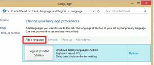 Add a language
