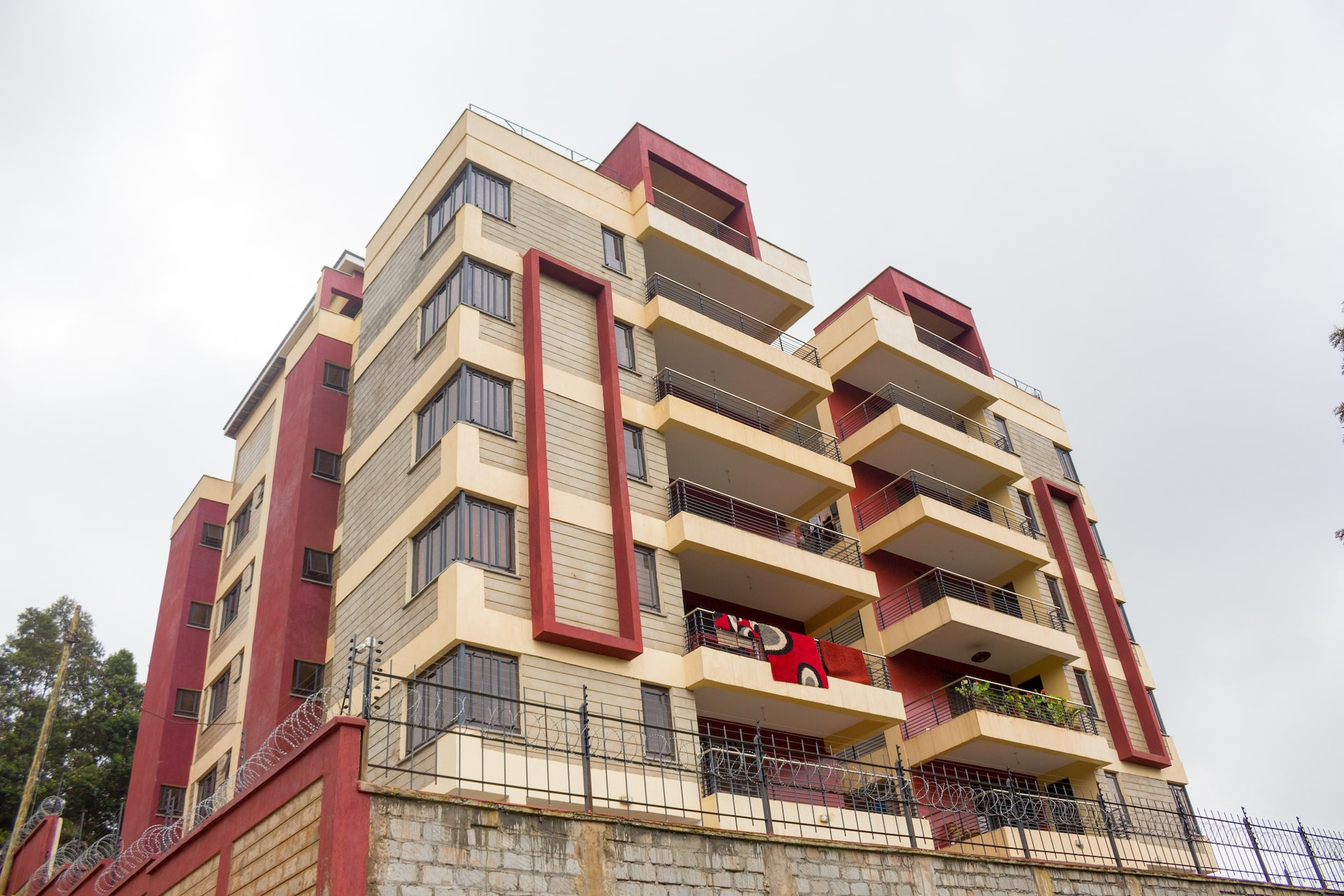 Grandville phase 1 building facade