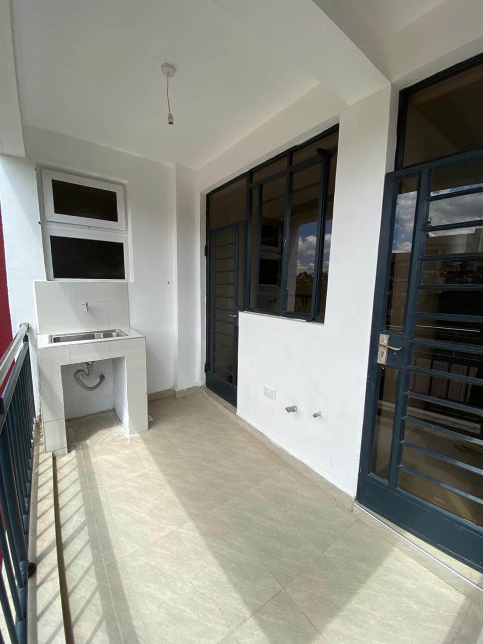 grandville luxury apartments phase 2 SQ room entrance from kitchen balcony