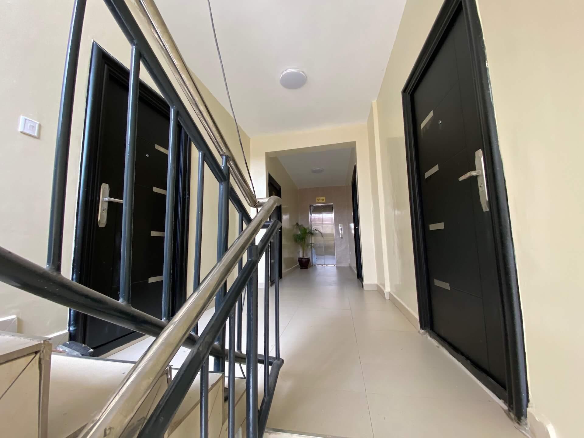 Grandville Phase 2 5th floor lift lobby