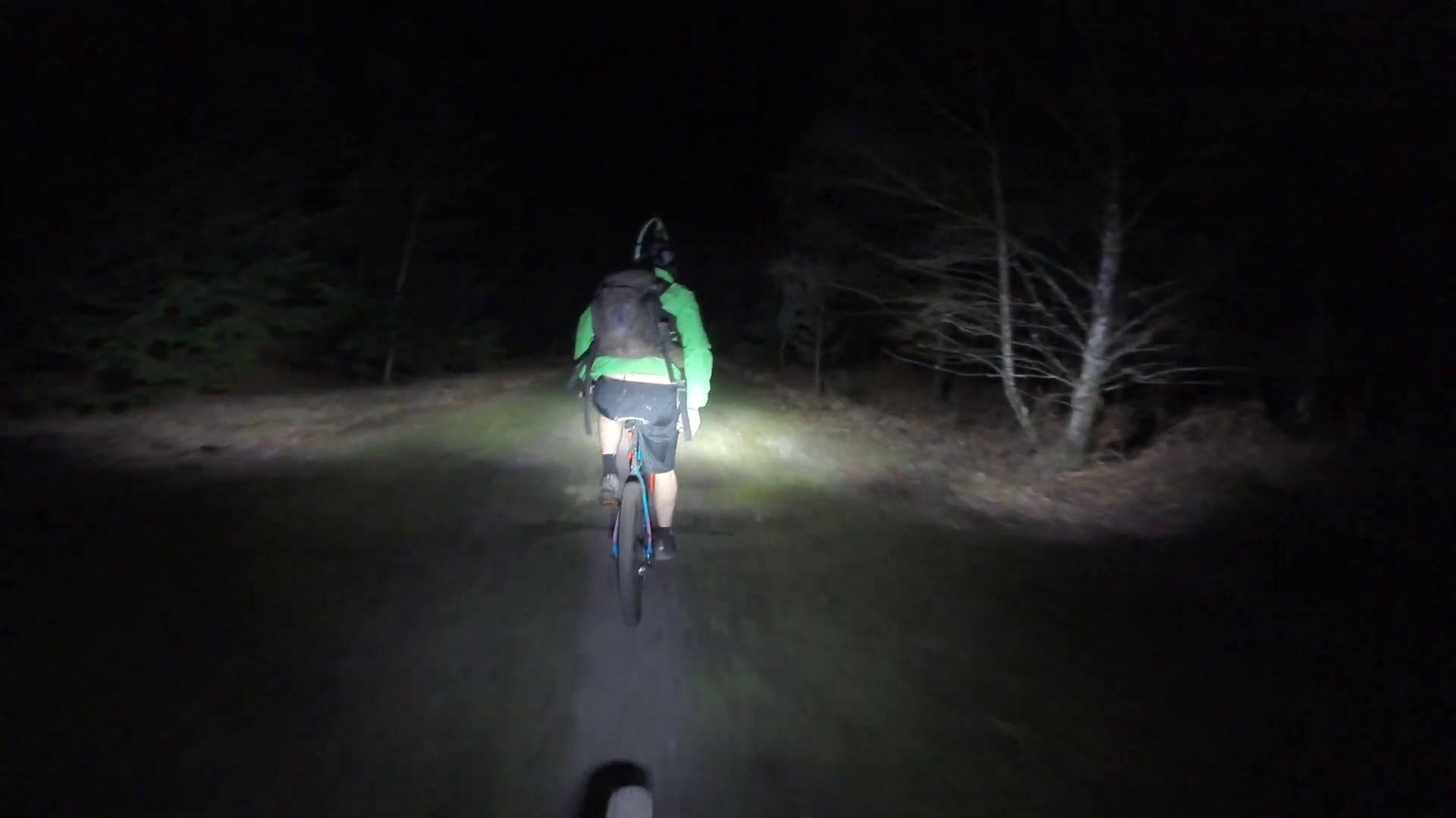 dirt bike by night uk downhill