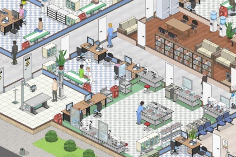 Ett spel för dig som saknat Theme Hospital!