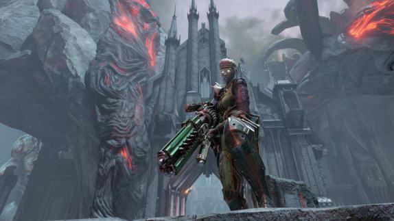 Snart kommer Strogg till Quake Champions