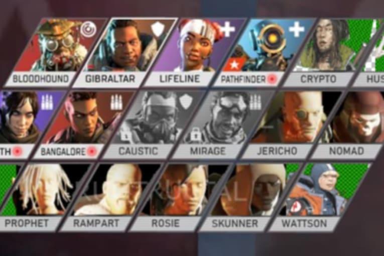Datagrävare har upptäckt ytterligare åtta nya Apex Legends-karaktärer