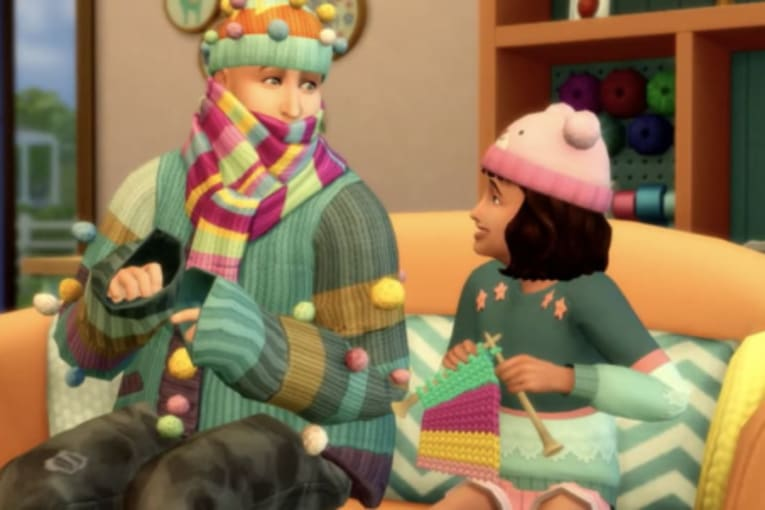 The Sims 4: Nifty Knitting släpps den 28 juli, kolla in trailern